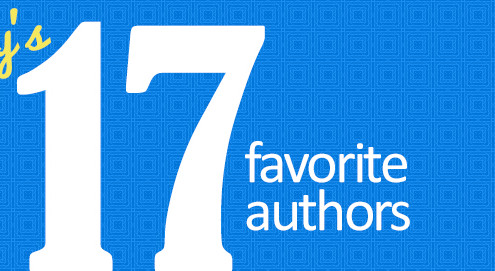 Tracey's Top 17 Favorite Authors