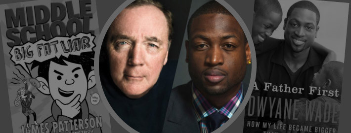 James Patterson & Dwyane Wade