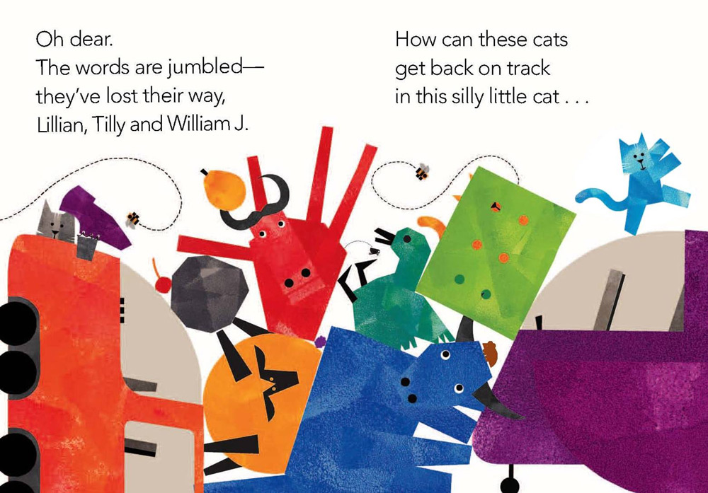 A Cat Tale book spread