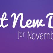 Great New Books for November