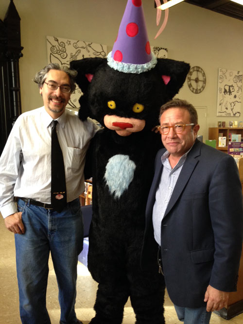 Nick Bruel, Bad Kitty and Neal Porter