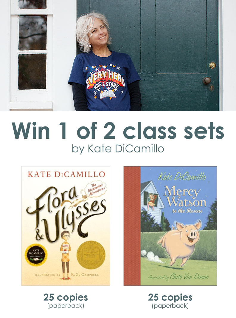 Win 1 of 2 class sets by Kate DiCamillo!