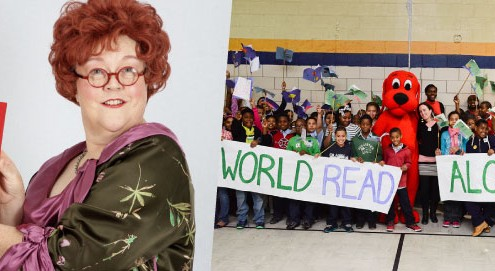 Mrs. P and World Read Aloud Day