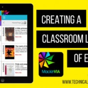 Creating a Classroom Library of eBooks