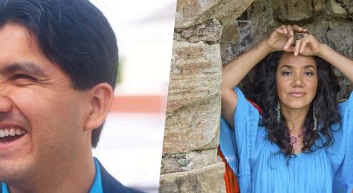 Sherman Alexie and Yuyi Morales