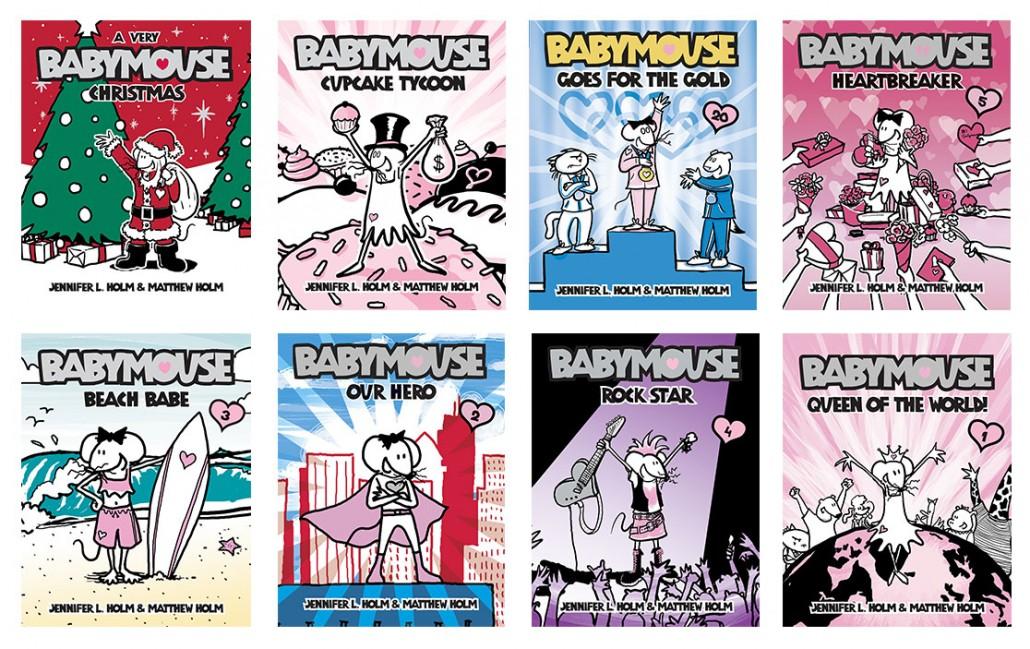 BabyMouse_Books