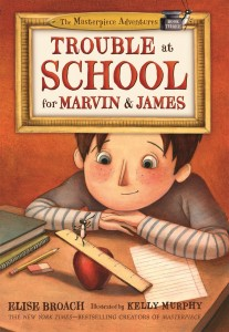 Trouble at School for Marvin and James