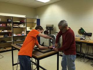 Fab Lab #3 - Ryan (Grade 8) and Jon Scroggs