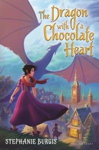 Dragon with a Chocolate Heart