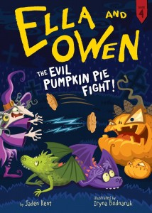Evil Pumpkin Pie Fight