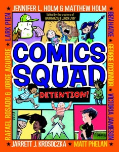 Comics Squad Detention