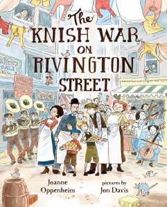 Knish War on Rivington Street