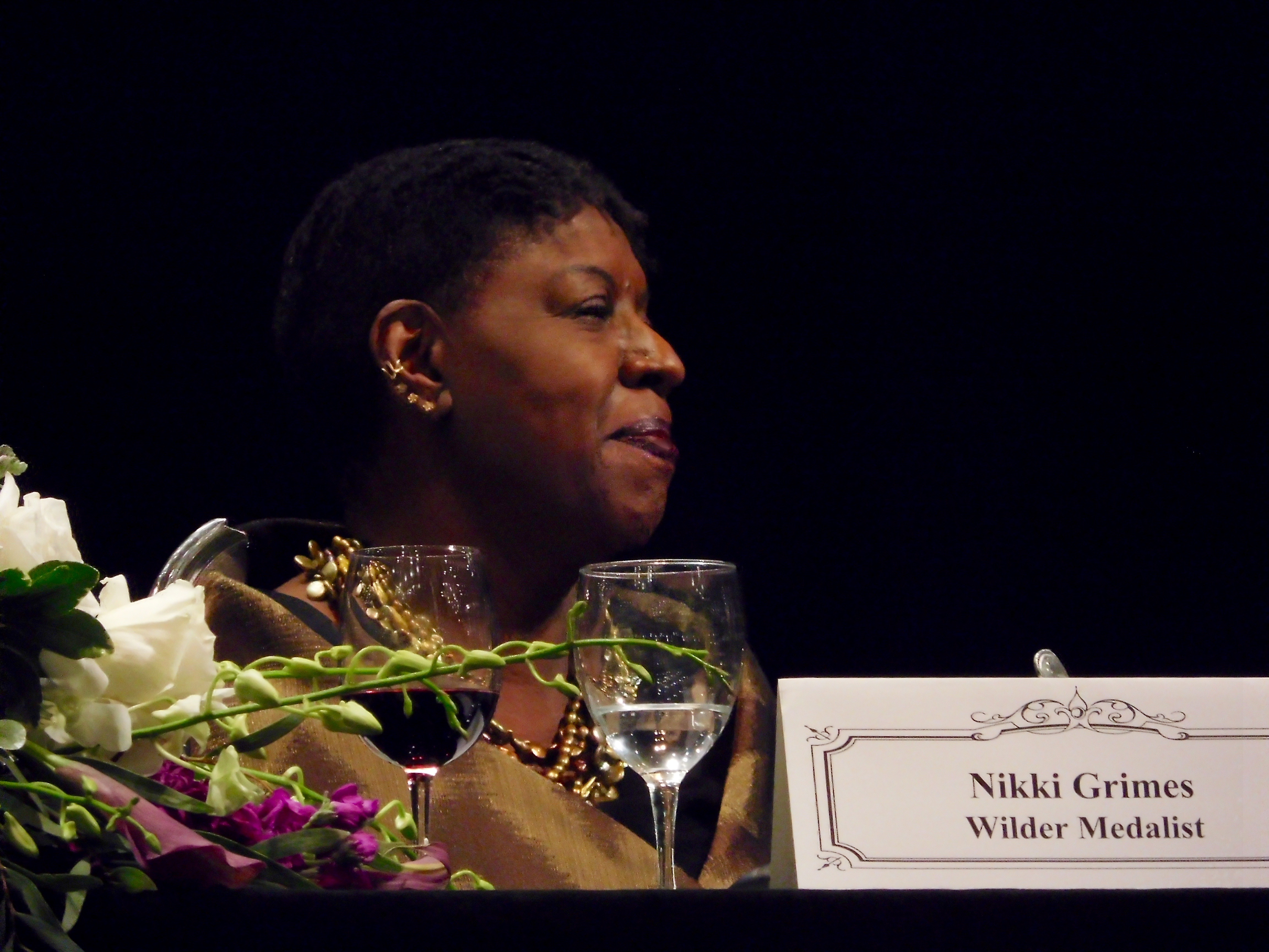 Nikki at Wilder Awards Ceremony