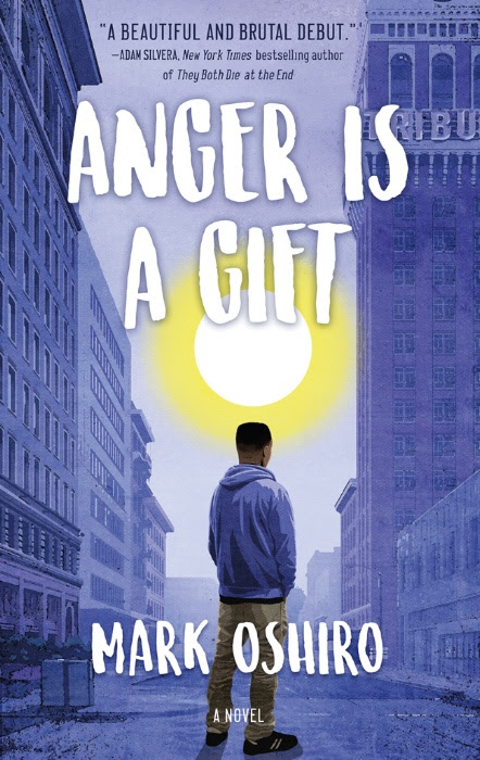 Anger is a Gift book cover