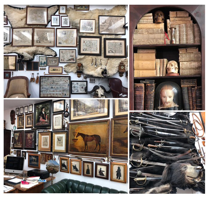 Eugene Yelchin's Studio