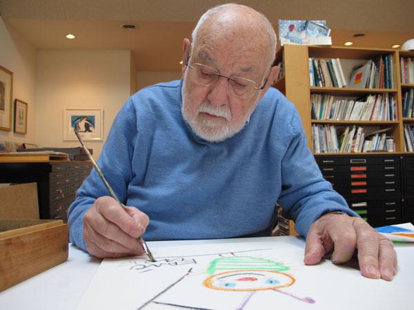 Eric Carle drawing