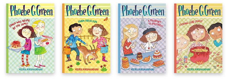 Phoebe G. Green book covers