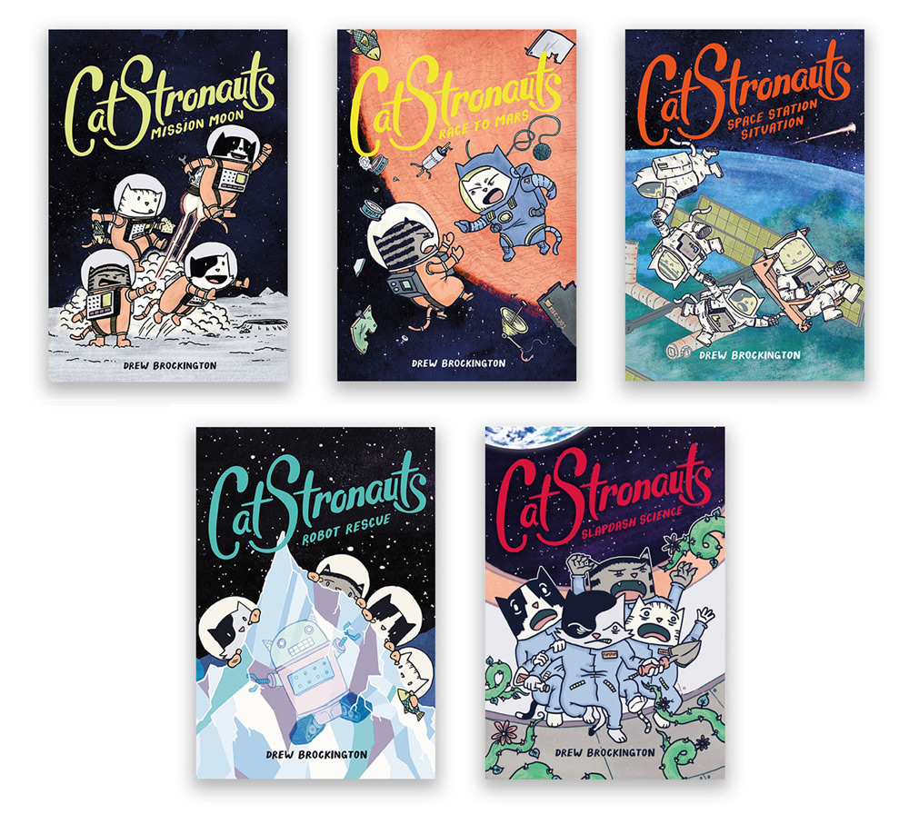 CatStronauts book covers